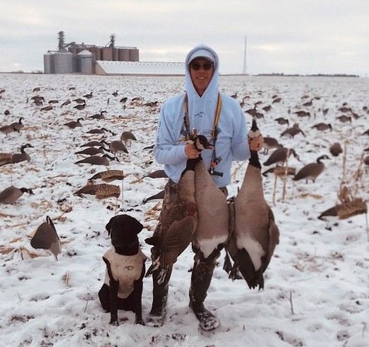 Chris Cleveland's last hunt of the season
